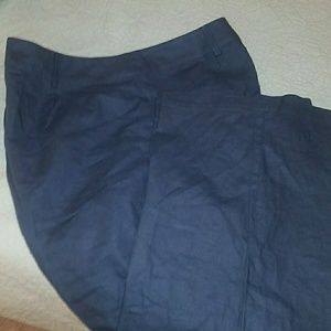 Women's size 26 linen/cotton pants